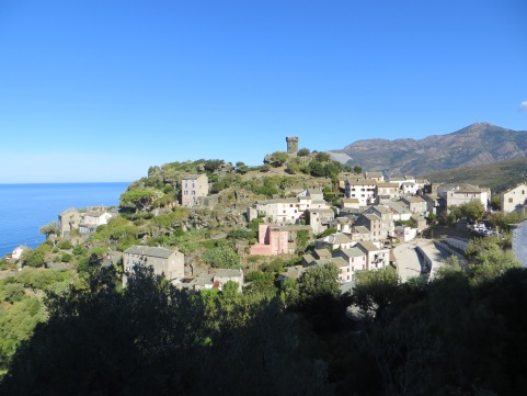 Nonza on Cap Corse, Corsica