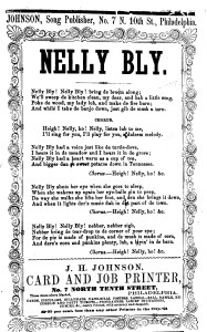 Nelly Bly song